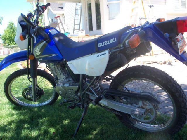 2005 Suzuki Dr 200 Dual Sport Blue 1 500 Miles For Sale In Farr