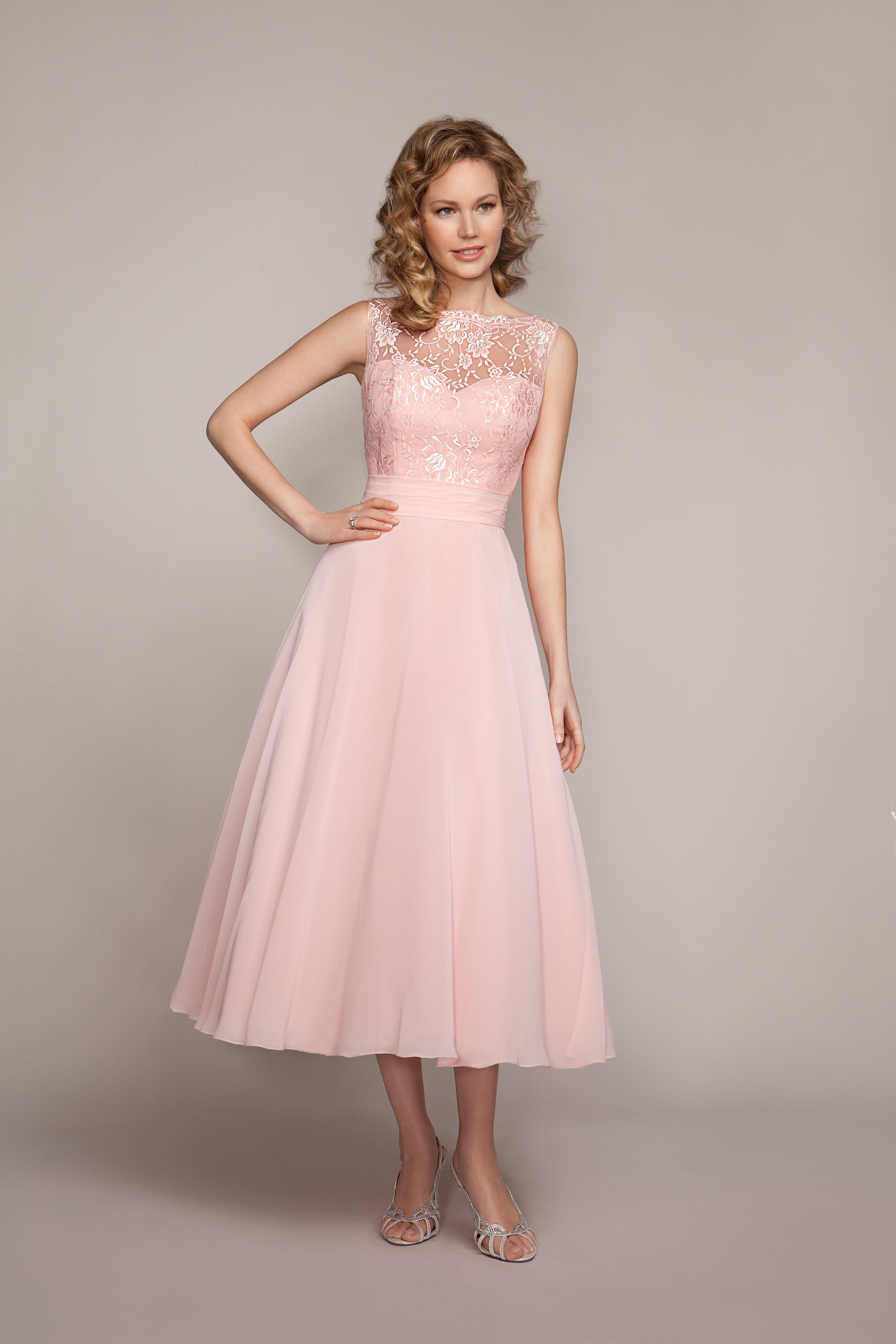 Mark lesley 1525a bridesmaid dress bridesmaid dresses pinterest explore pink bridesmaid dresses tea length and more ombrellifo Images