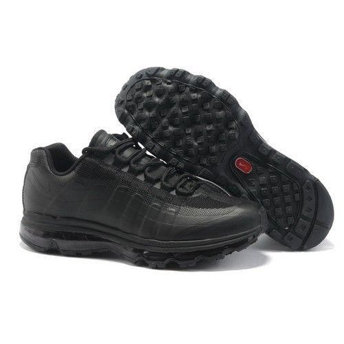 Nike Air Max 95 + 360 All Black Men Running Shoes 1008 $70
