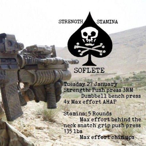 #SOFlete #SOF #crossfit #clangandbang #fitness