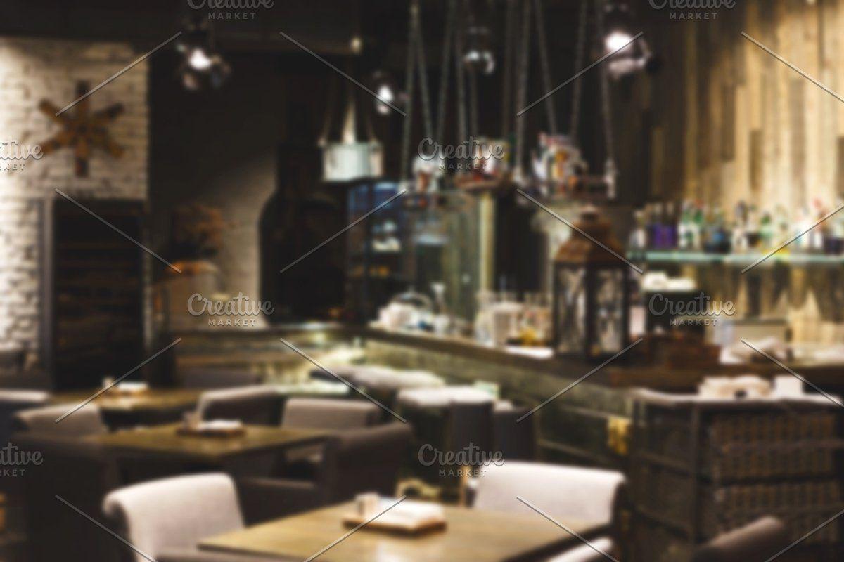 Interior of modern restaurant, loft , #affiliate, #loft#design#big#style #affiliate