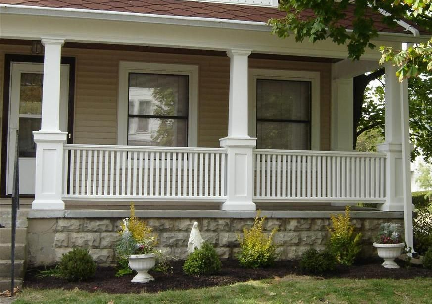 Craftsman Porch Railing With
