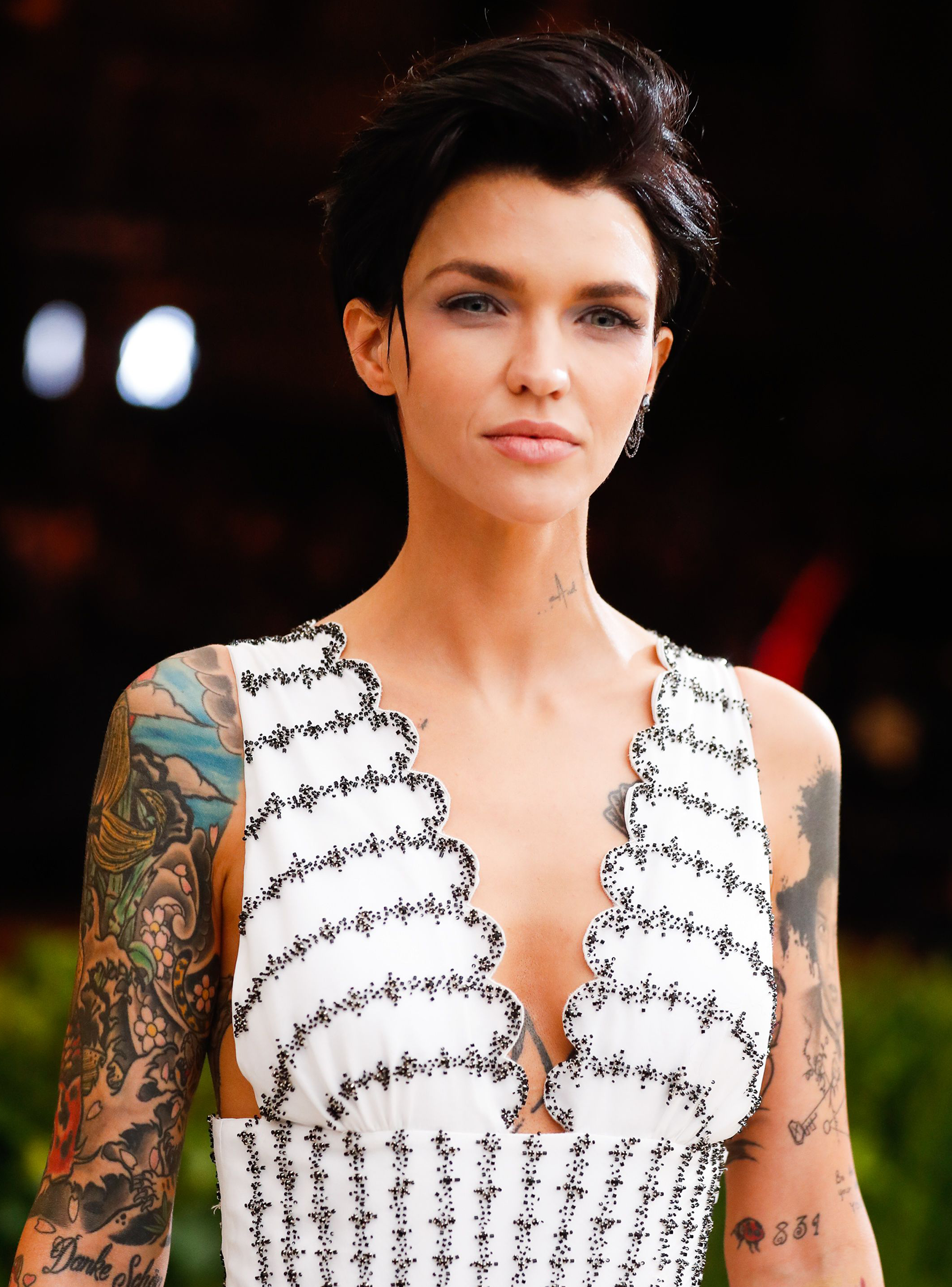 Ruby Rose Just Revealed Why She Actually Got This Undercut Http - Undercut hairstyle ruby rose