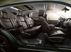 Infiniti Jx Interior Seats 7 Interior Bentley Brown Dark Refined