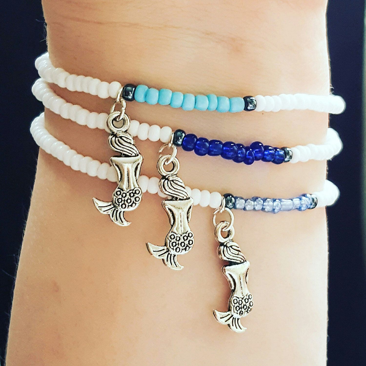 Just Landed In My Shop, Mermaid Friendship Bracelets There Are Two  Different Coloured Sets