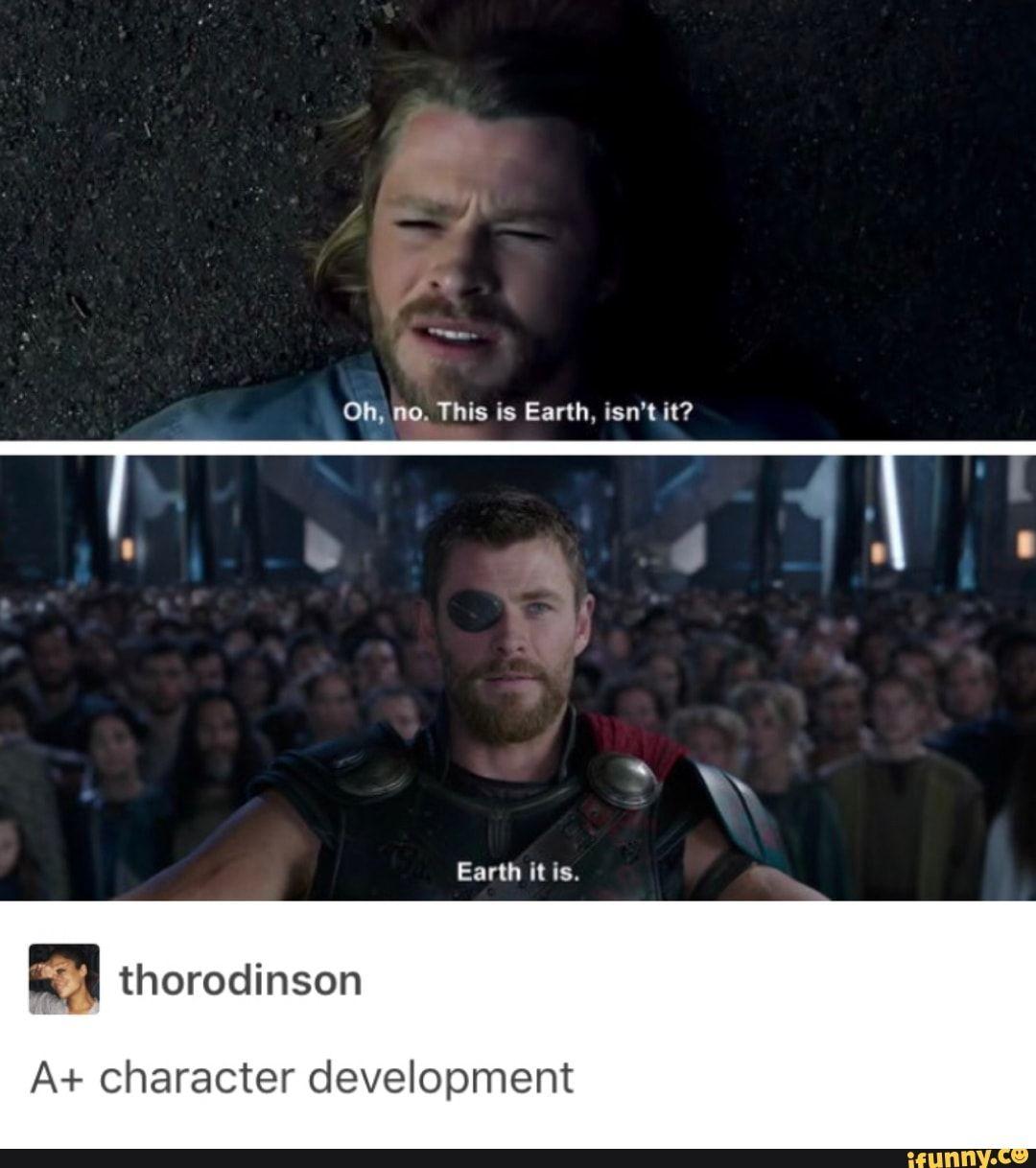 Tumblr Thor Thorragnarok Lol Ifunny Marvel Marvel Funny Marvel Jokes