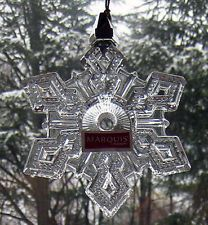 Waterford  Marquis 2010 Snowflake  Ornament