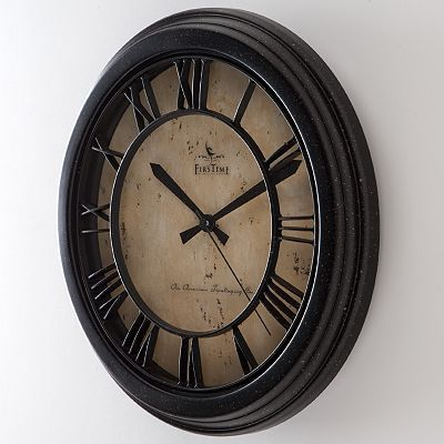 Kohls   FirsTime Classic Crackle Wall Clock. Kohls   FirsTime Classic Crackle Wall Clock   Jen s Home Ideas