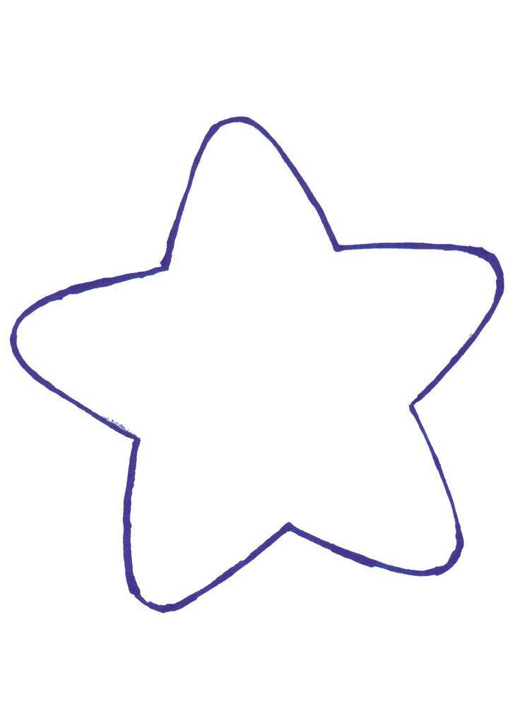 Estrella Moldes De Estrellas Patrones Corazones De Tela