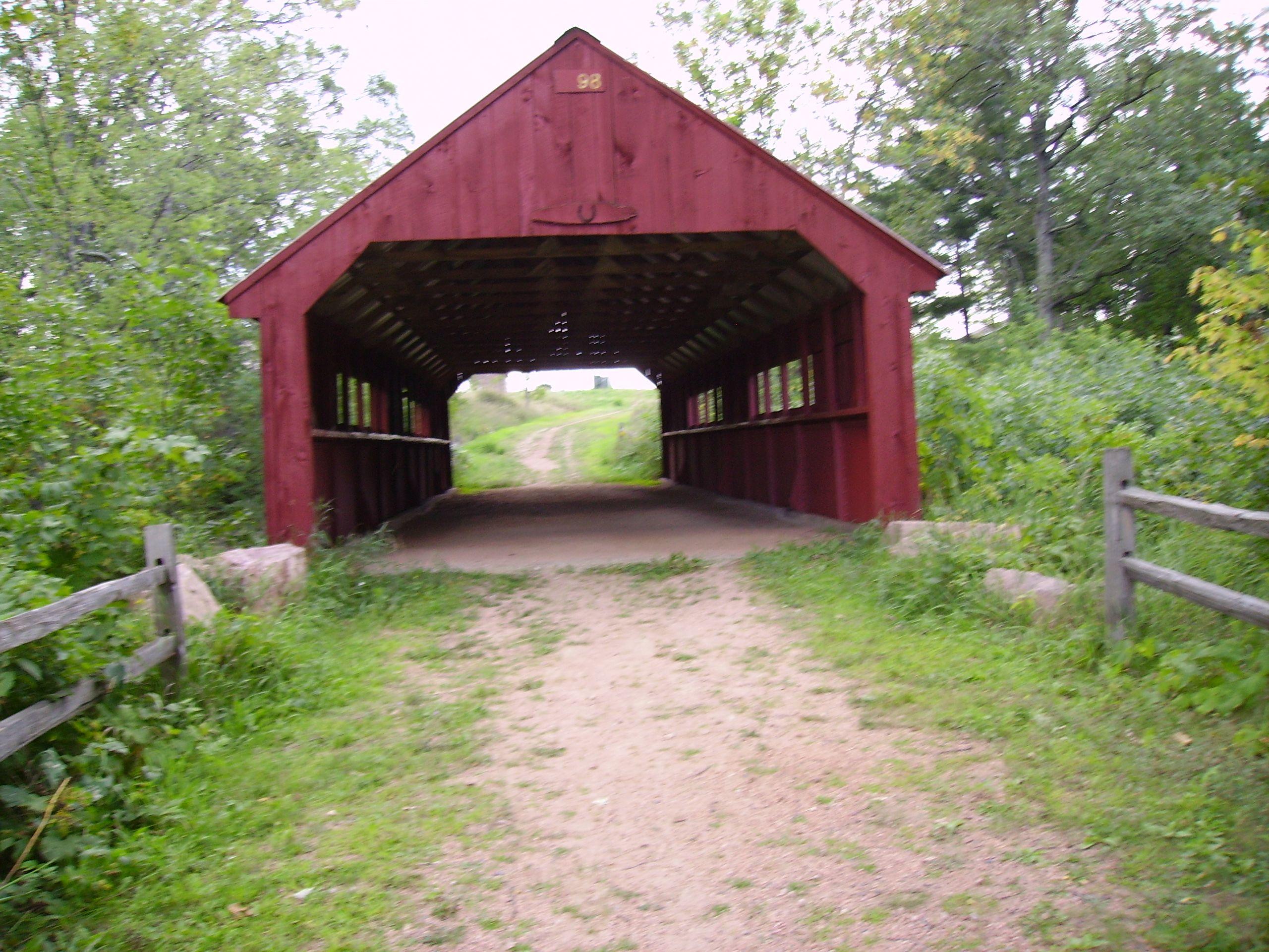 Wausau Wisconsin Old Covered Bridge By The Cedar Creek Mall In Wausau Wi Wisconsin