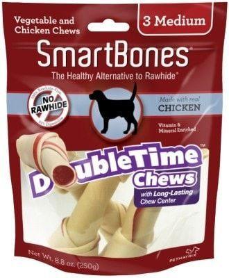 Dog Treats All Other Smartbones Med Dt Bne Chk 3pk Chicken