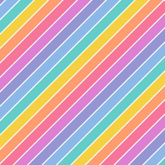 Stripped Rainbow Colors Background with LuLaRoe by designOrganized