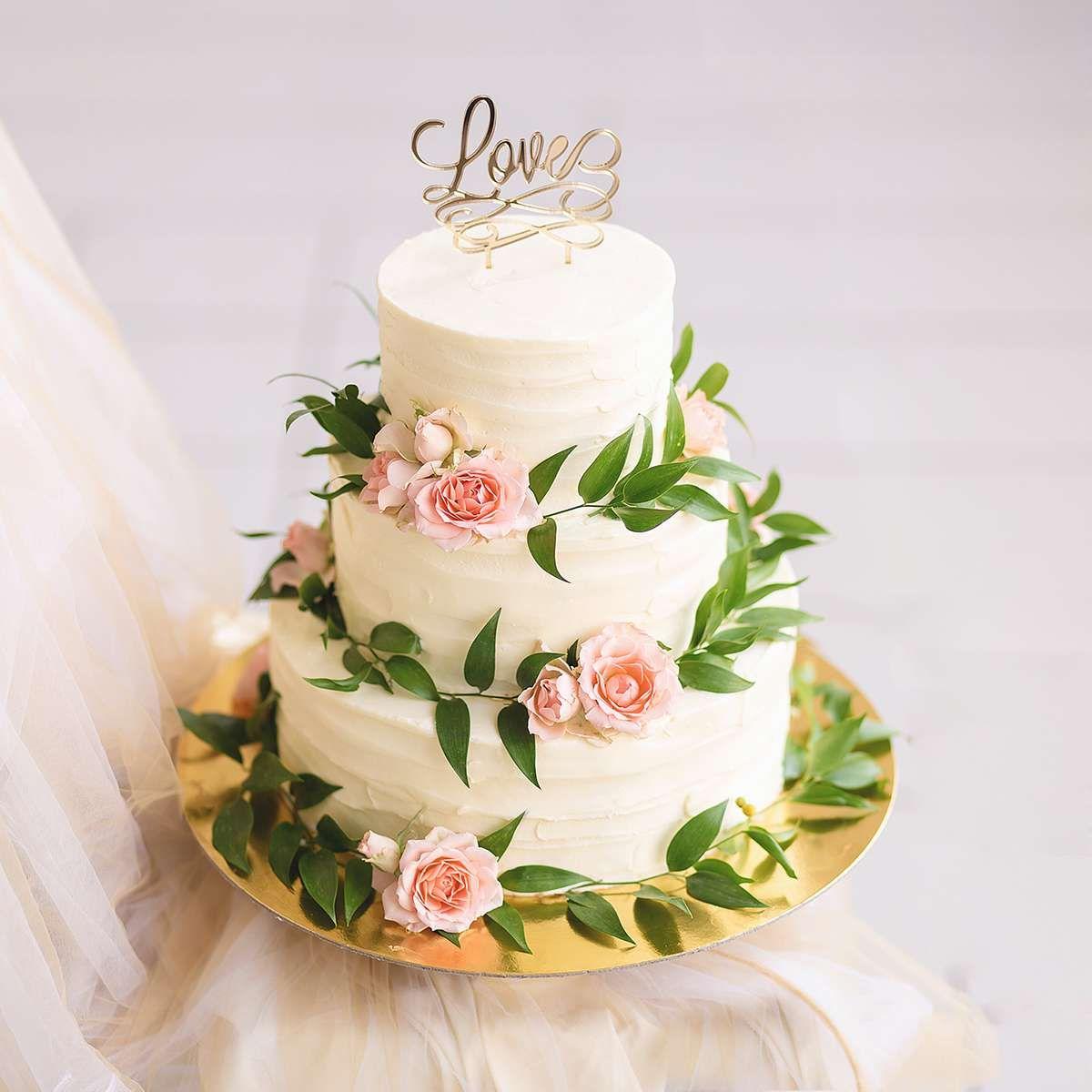 Свадебные торты : Эко-рустик фото : 3 идей 2017 года на ...