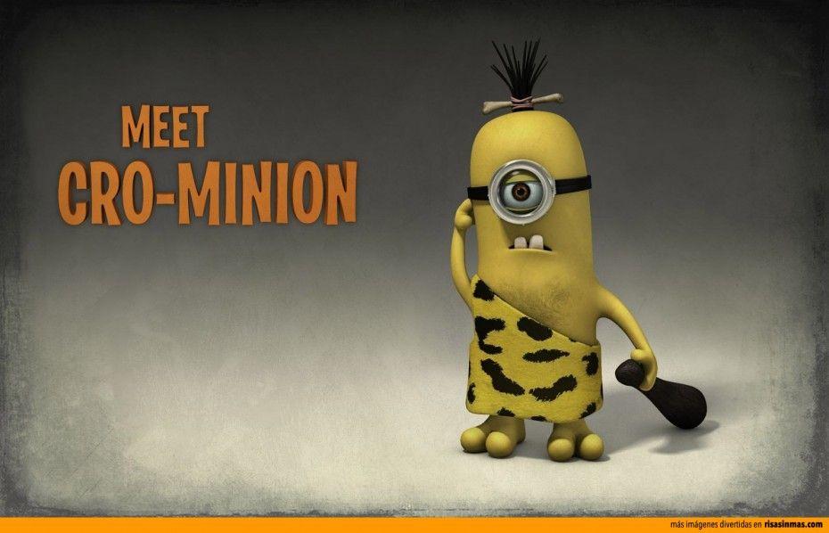 El Hombre De Cro Minion Minions Minions Funny Minion Pictures