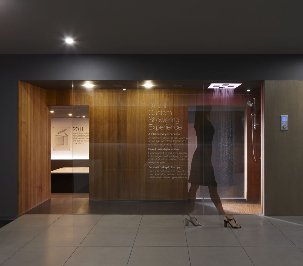 Kohler Dubai showroom designed by Harvey Langston-Jones. http://www ...