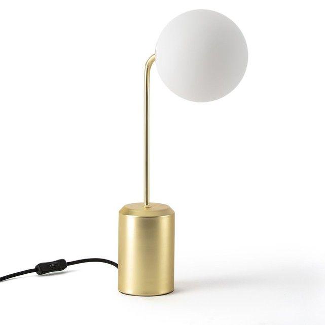 Lampe  poser opaline MORICIO