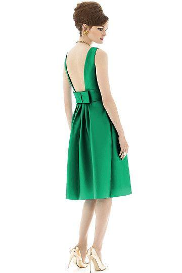 A-line Knee-length Sleeveless Bridesmaid Dresses