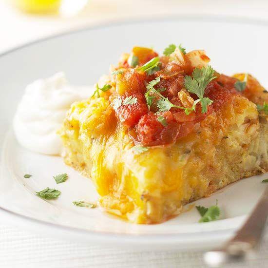 Easy Huevos Rancheros Casserole Recipe Gardens Dinner