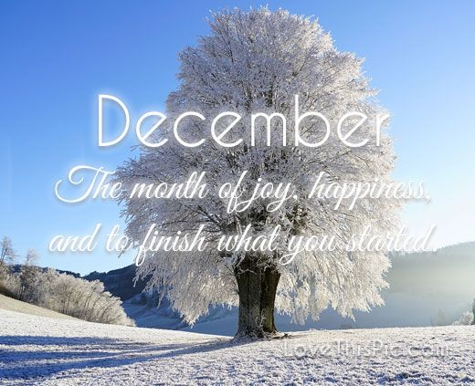 December December December Quotes Hello December Happy December