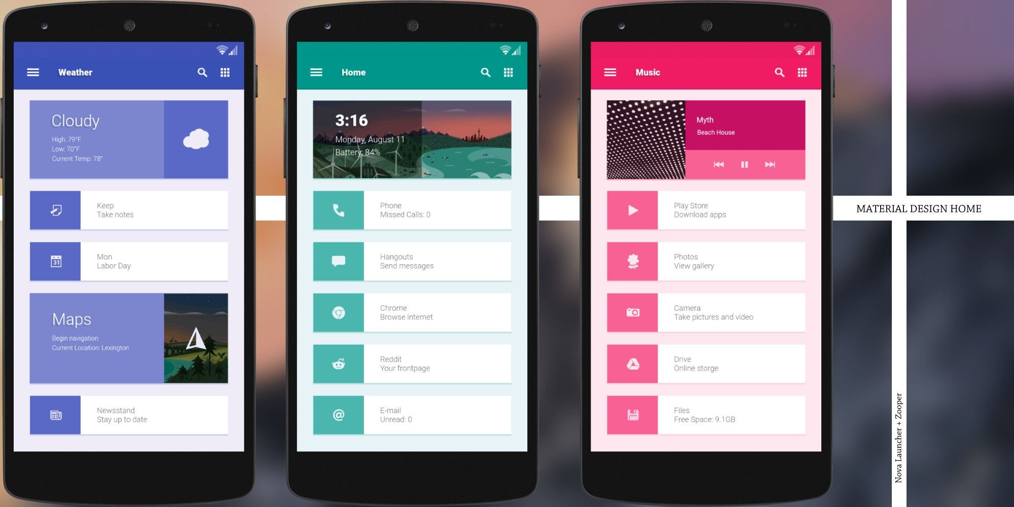 10 Creative Custom Android Homescreen Themes Made By People Just