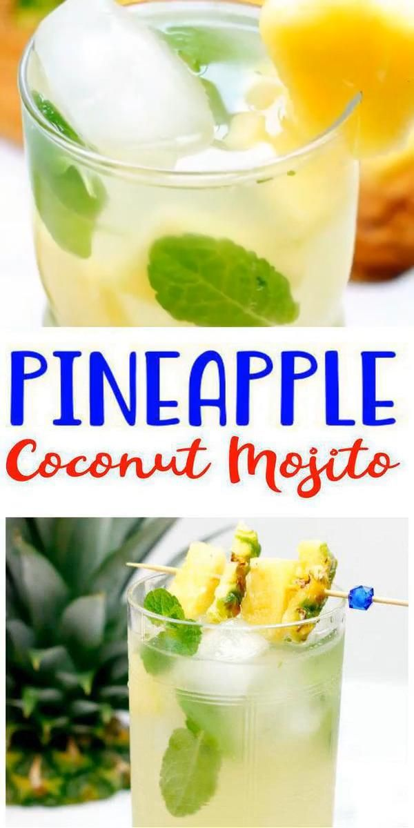 Photo of Pineapple Coconut Mojito Recipe – Easy and Simple Rum Cocktail