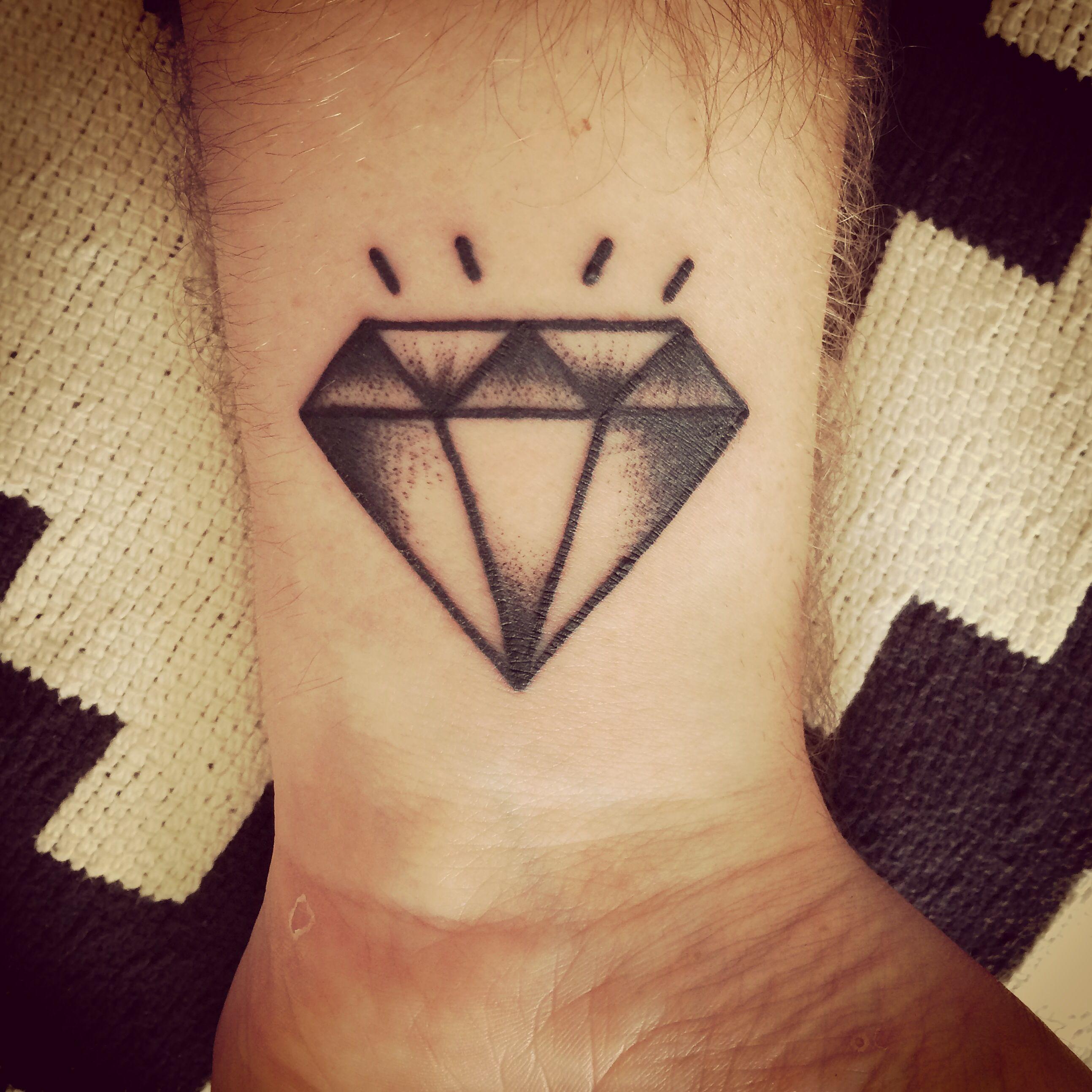 Diamonds Are Forever Tattoo Diamond