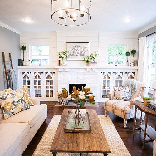 How to have the most original home on the block joanna for Upper living room designs