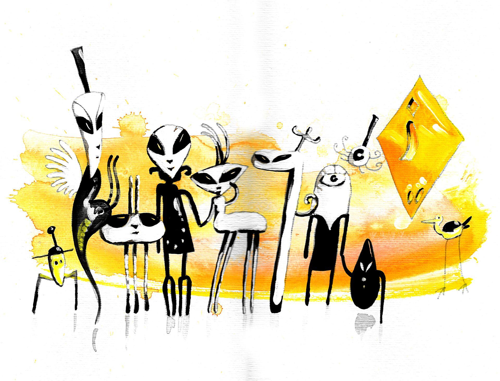 SNAPSHOTS LAST LONGER 06 - watercolor - 11x17inches