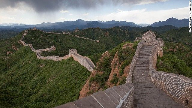 25 Amazing Feats Of Engineering Around The World Great Wall Of