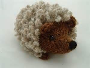 hedgehog crocheted applique - Bing Images