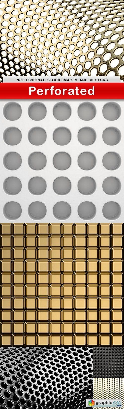 Perforated  6 UHQ JPEG  stock images