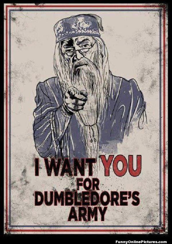 Harry Potter #Meme Picture #HarryPotter - Dumbledore's Army