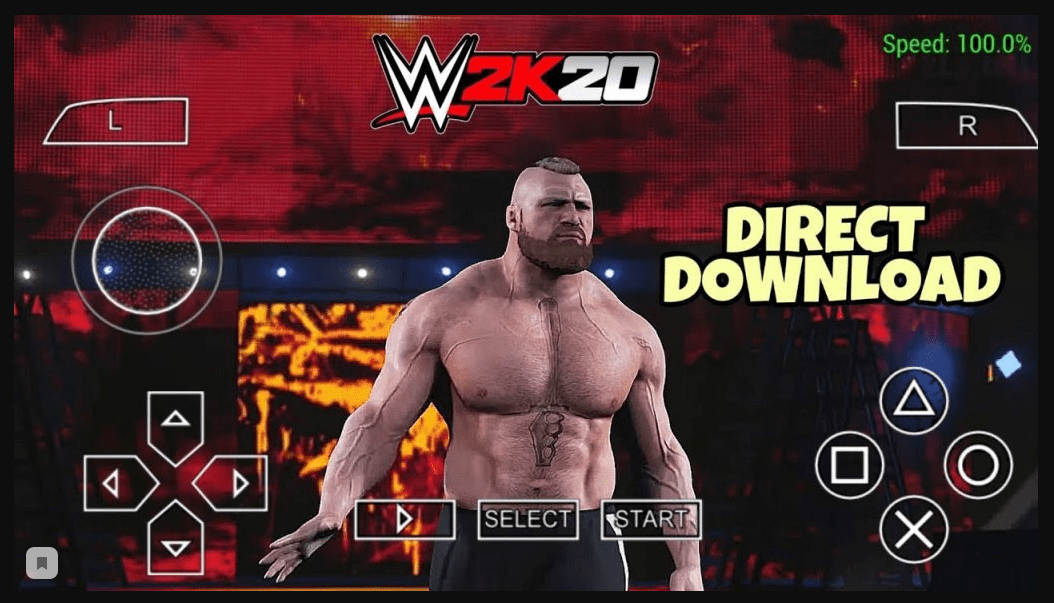 Wwe 2k20 Ppsspp Wwe 2k20 Game Download For Android Iso In 2020 Wwe Game Download Download Games Wwe Game