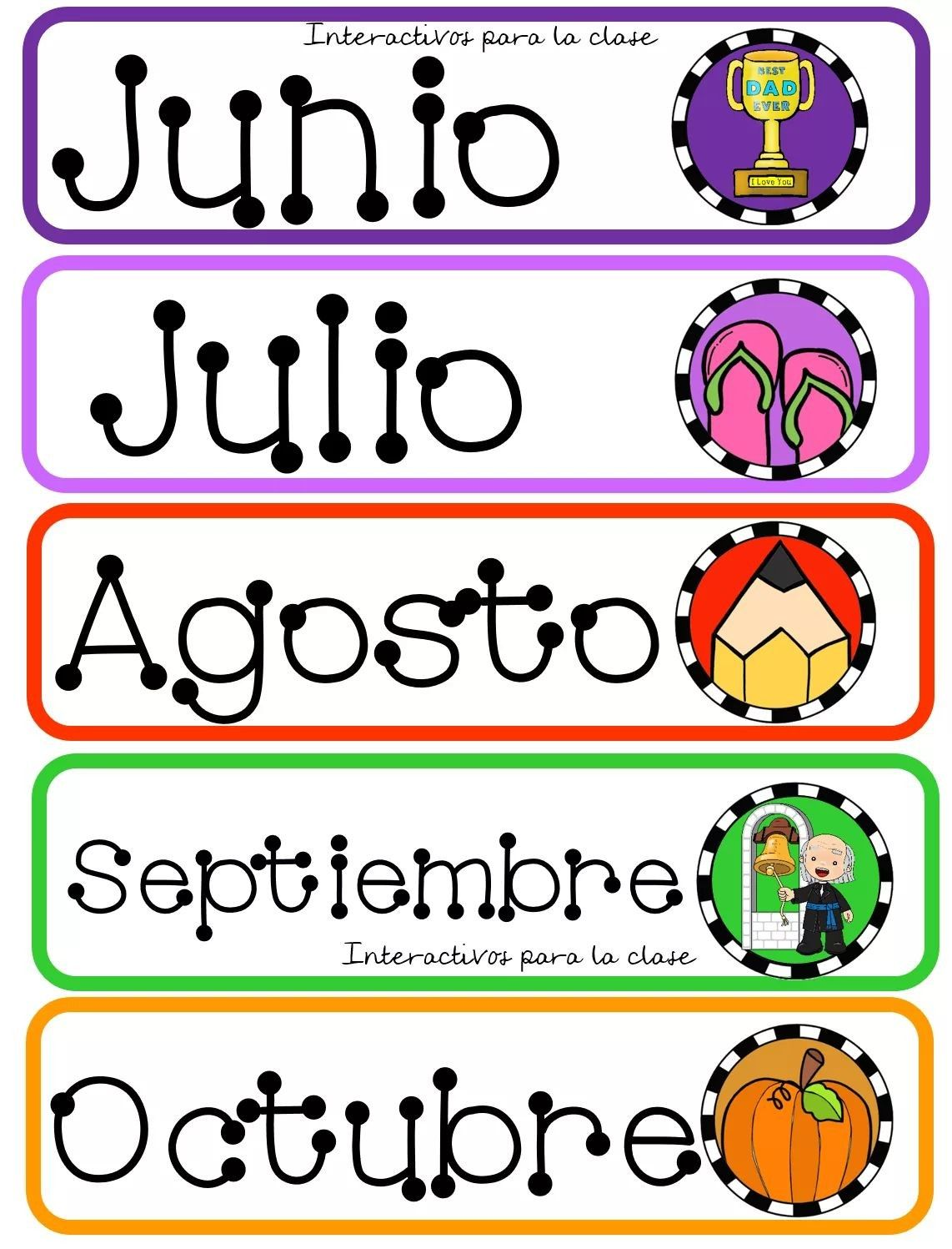 Meses Del Año En Ingles Pin By Dorlys Larez On Meses Del AÑo Pinterest Ideas
