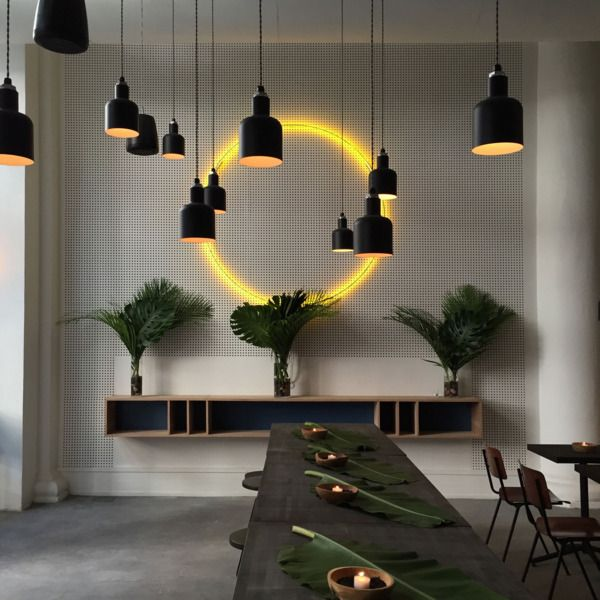 Introducing Inday, NYCu0027s Brand New Fast Casual Indian Restaurant    Grub  Street · Restaurant IdeasRestaurant InteriorsRestaurant DesignInterior ...