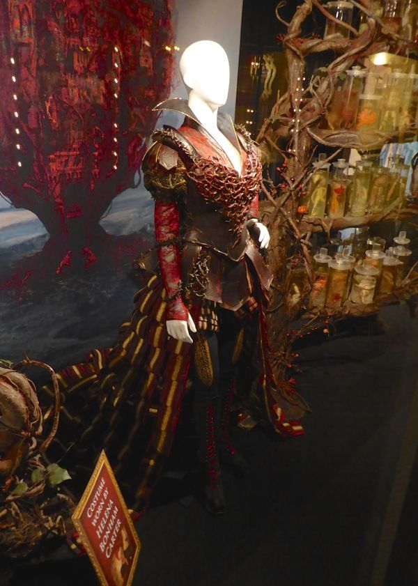 Red Queen Organic Armour Costume From Alice Through The Looking