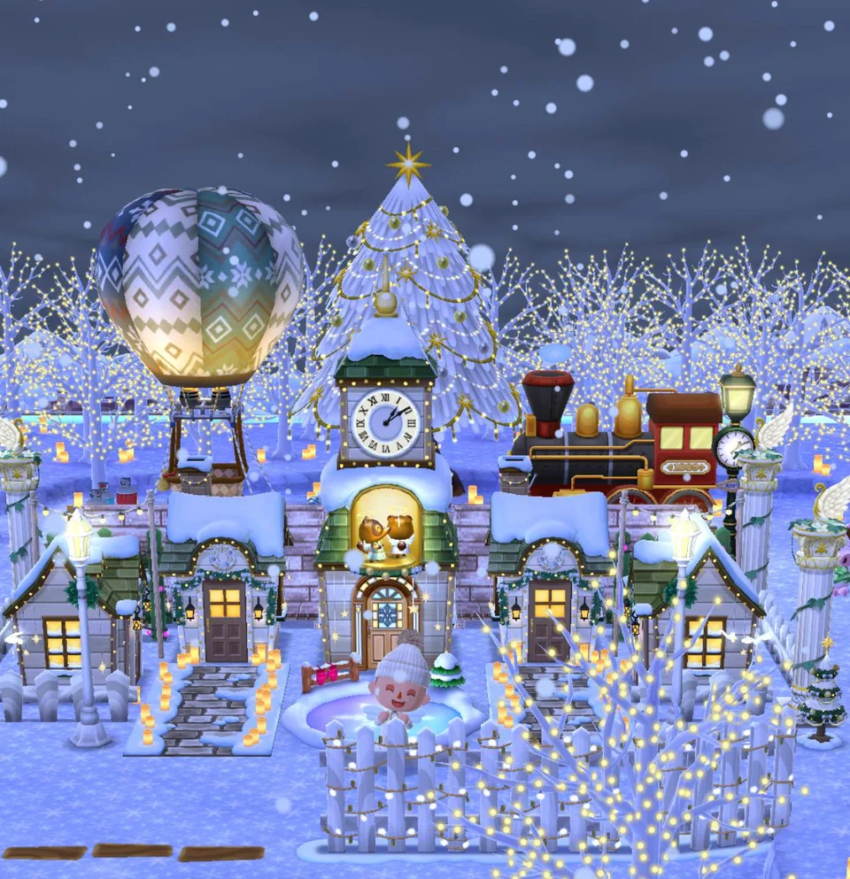 Pocket Camp Christmas 2020 Christmas in pocket camp had finally arrived