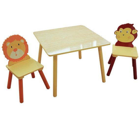 Buy Liberty Houe Jungle Nursery Table And 2 Chairs At