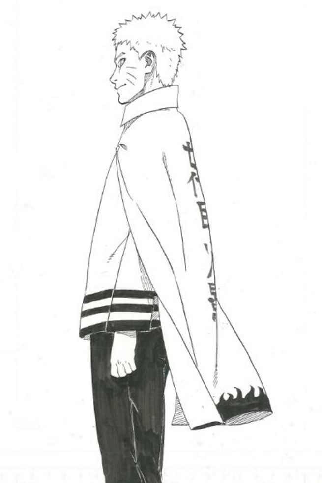 The First Character Art Images For Naruto Gaiden Nanadaime Hokage