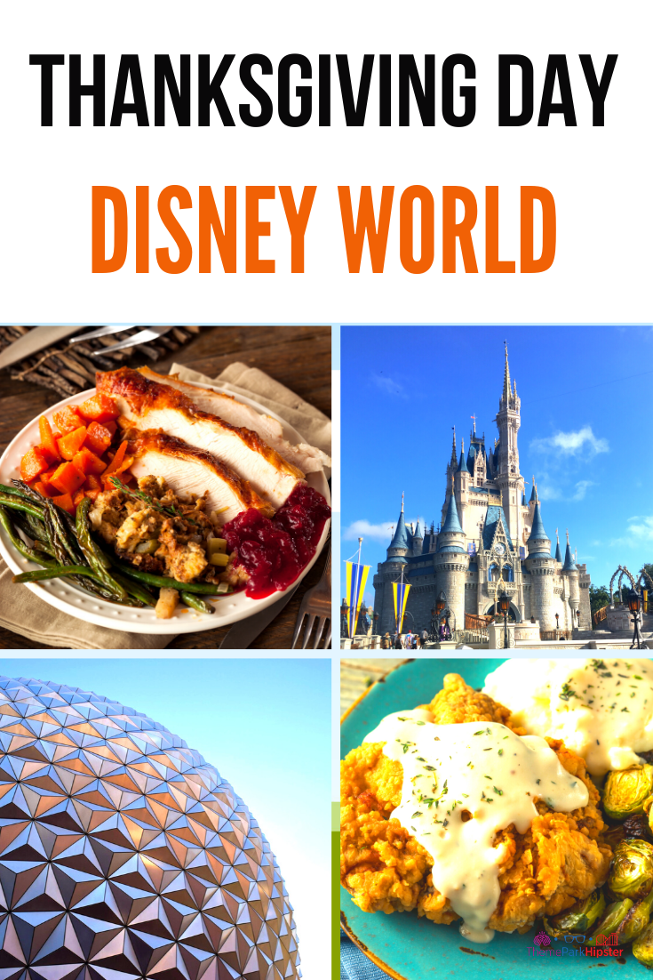 Ultimate Guide To Thanksgiving At Disney Dinner Tips And Crowd Themeparkhipster Disney Dinner Disney Thanksgiving Disney World