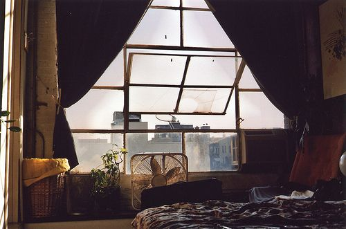 Love the huge city windows