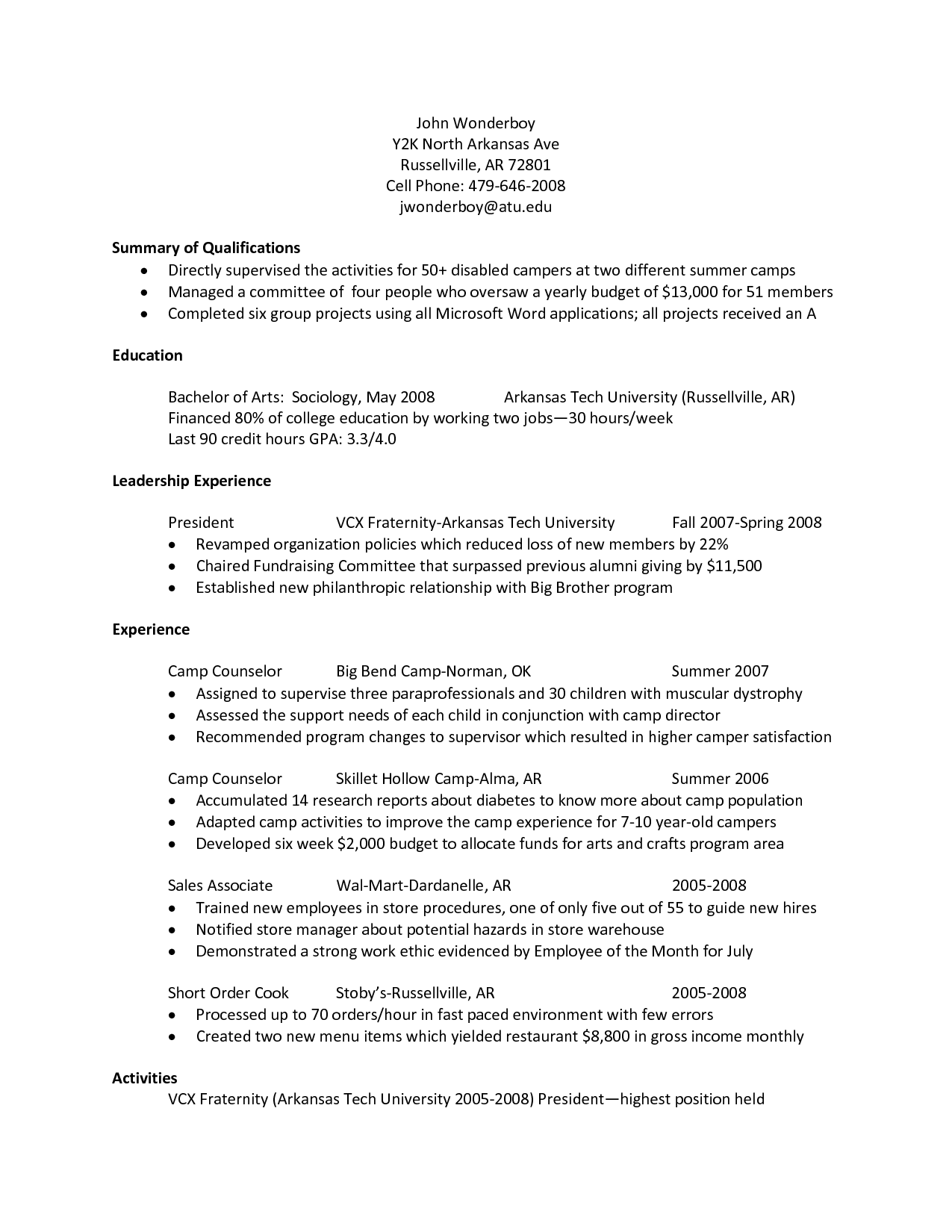 Cover Letter Examples For Paraeducator http//www