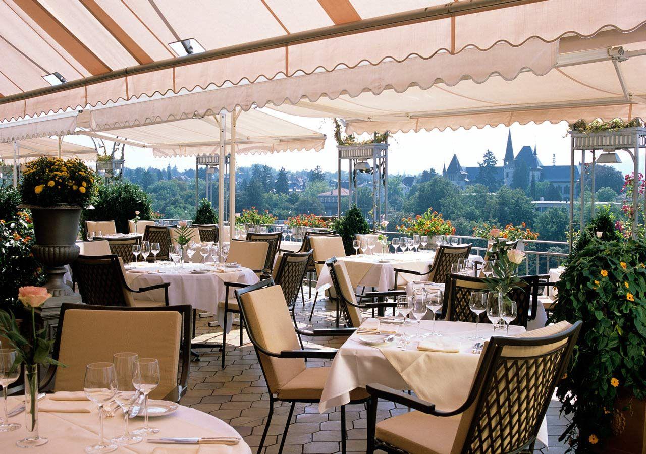 Bellevue Palace Restaurant - In Switzerland Dining