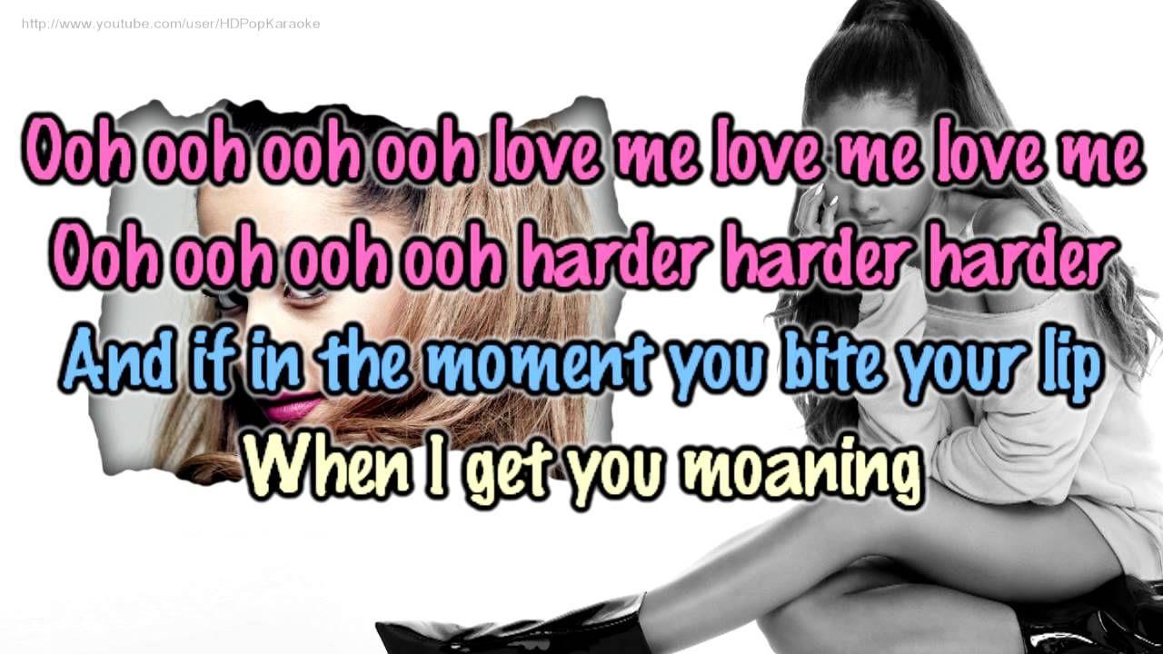 Love Me Harder Love Me Harder Karaoke Back Vocal