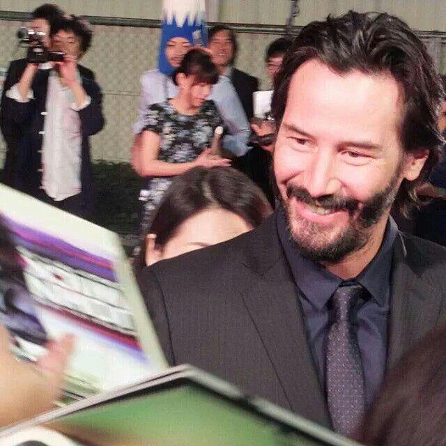 Keanu Reeves - John Wick Premiere Japan - September 30, 2015