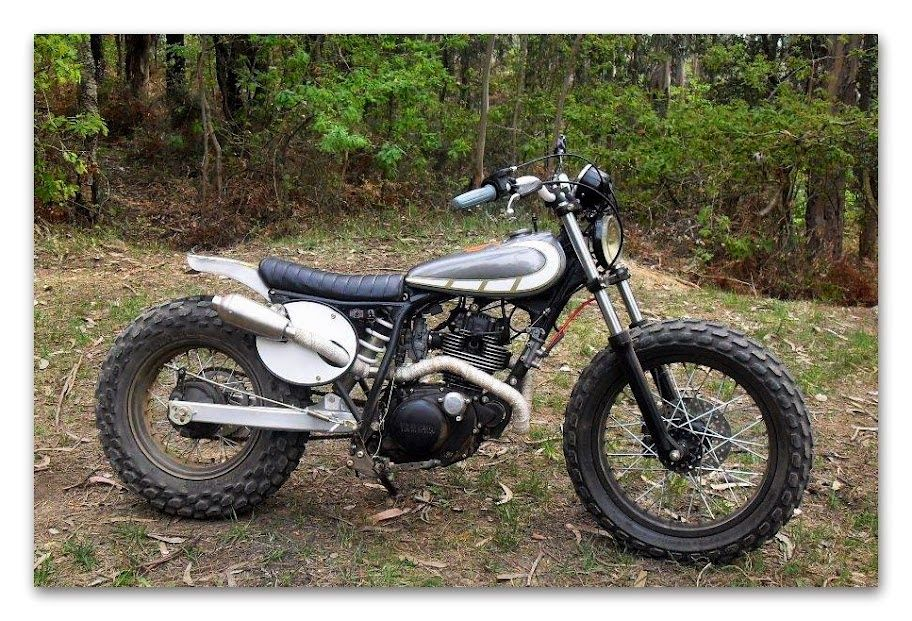 yamaha tw 125 scrambler there is not much build info on this yamaha tw 125 scrambler the. Black Bedroom Furniture Sets. Home Design Ideas