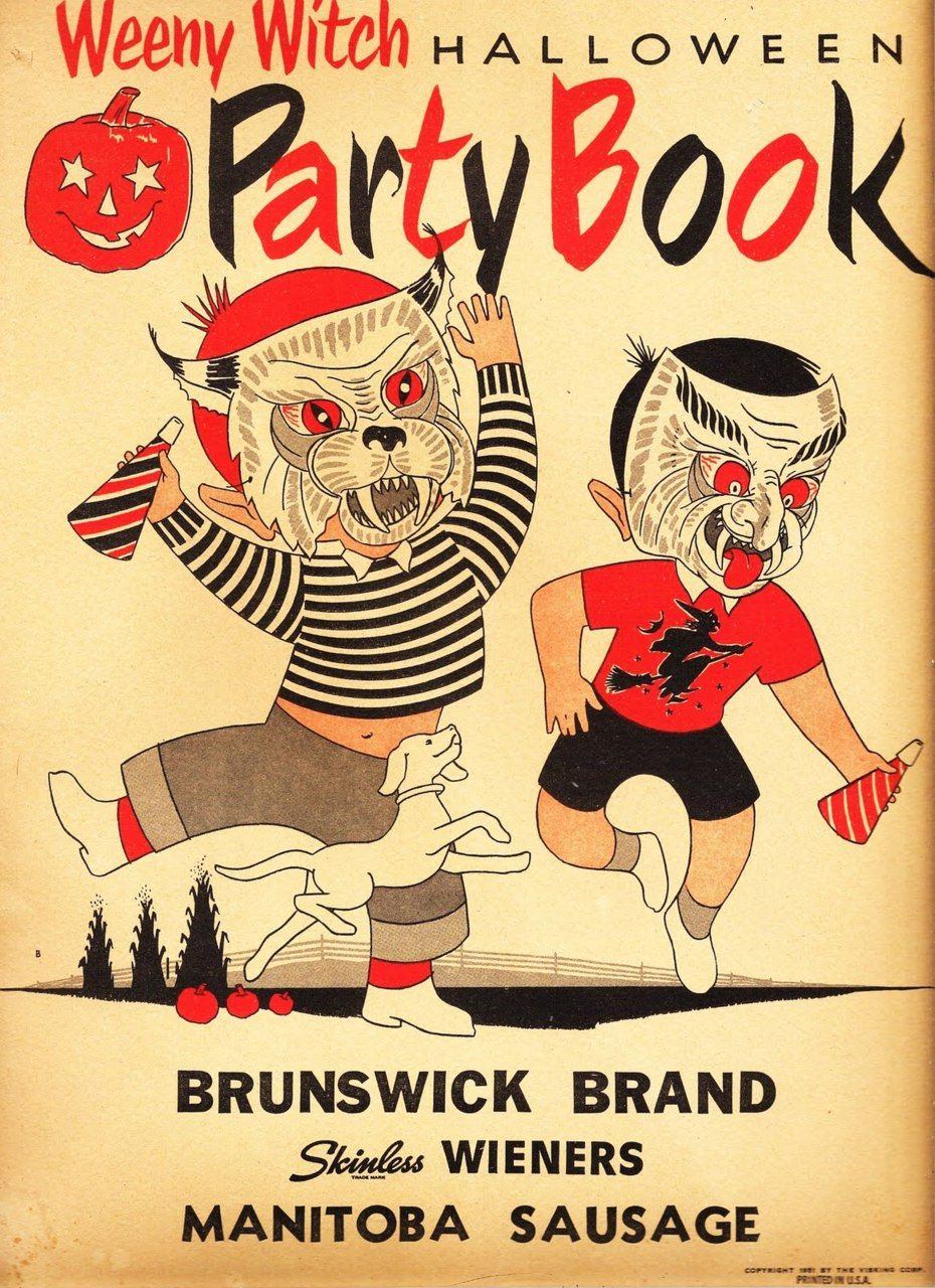 Weeny Witch Halloween Party Book, 1951