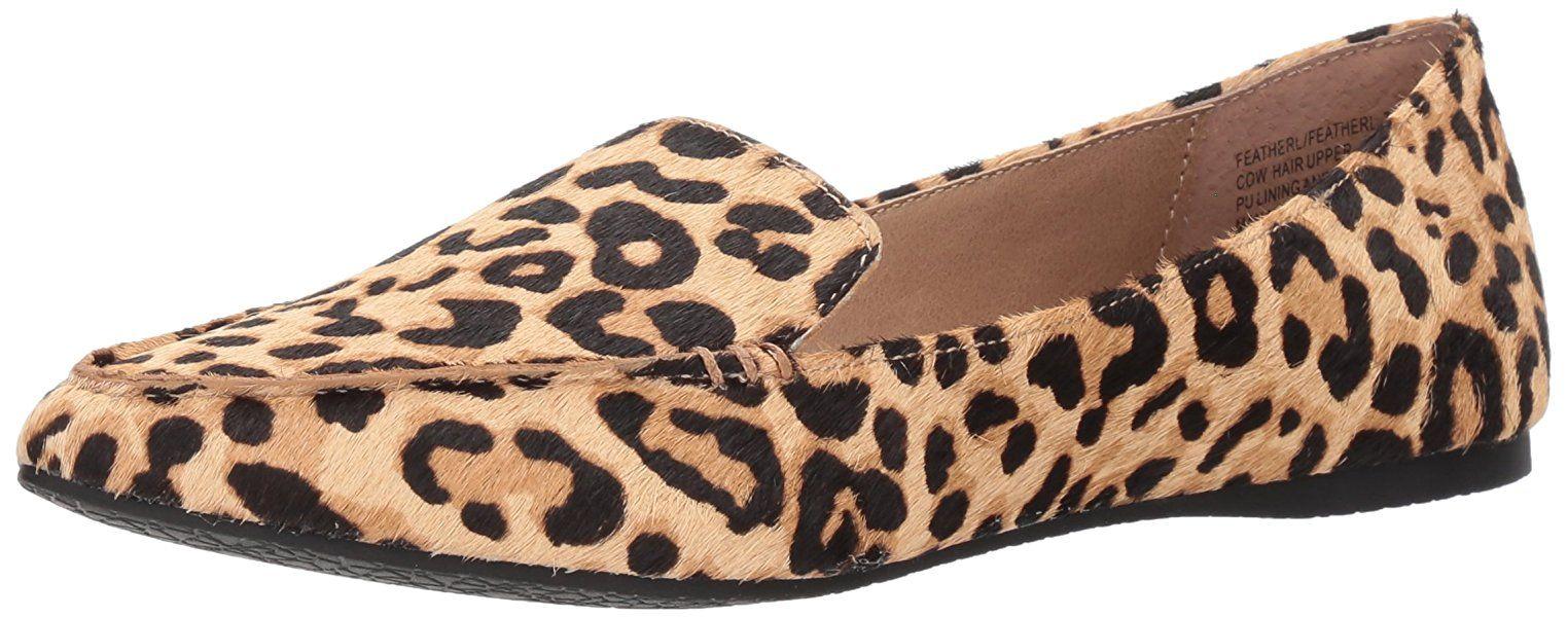 Leopard print shoes, Loafer flats