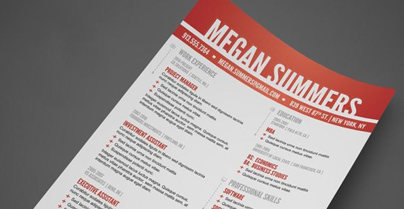 The 41 Best Resume Templates Ever Resumes Pinterest Template - best resume template ever