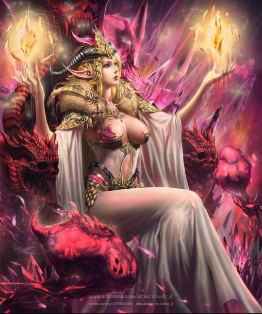 demon artwork Erotic